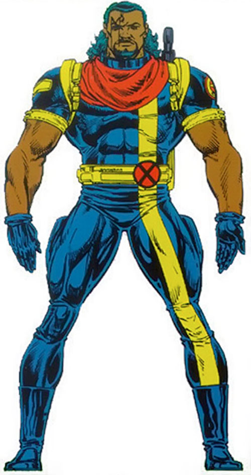 Bishop of the X-Men (Marvel Comics) from the Master Edition handbook
