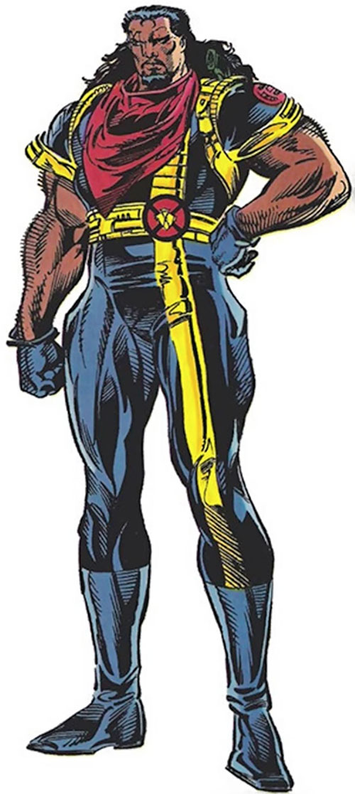 Bishop of the X-Men (Marvel Comics) from the TSR handbook