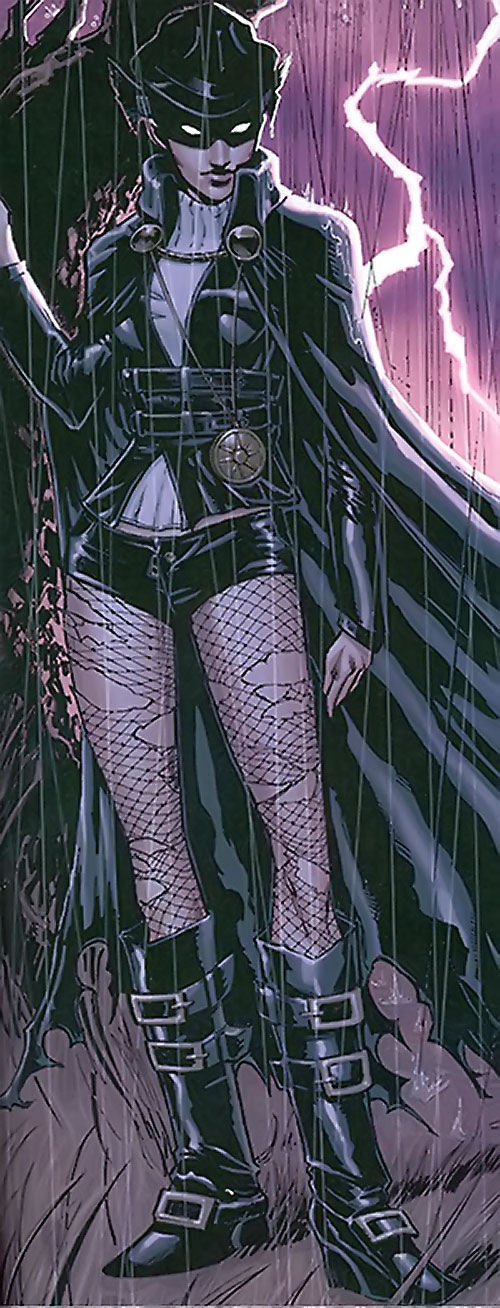 Black Alice (Birds of Prey) (DC Comics) using the Phantom Stranger's power