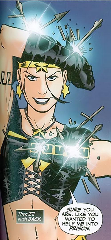 Black Alice (Birds of Prey) (DC Comics) using Wonder Woman's power