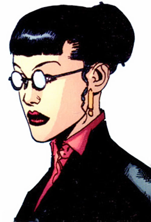 Black Betty of Stormwatch PHD (Wildstorm Comics) in teaching clothing