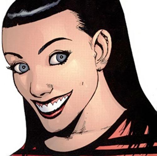 Black Betty of Stormwatch PHD (Wildstorm Comics) looking super perky