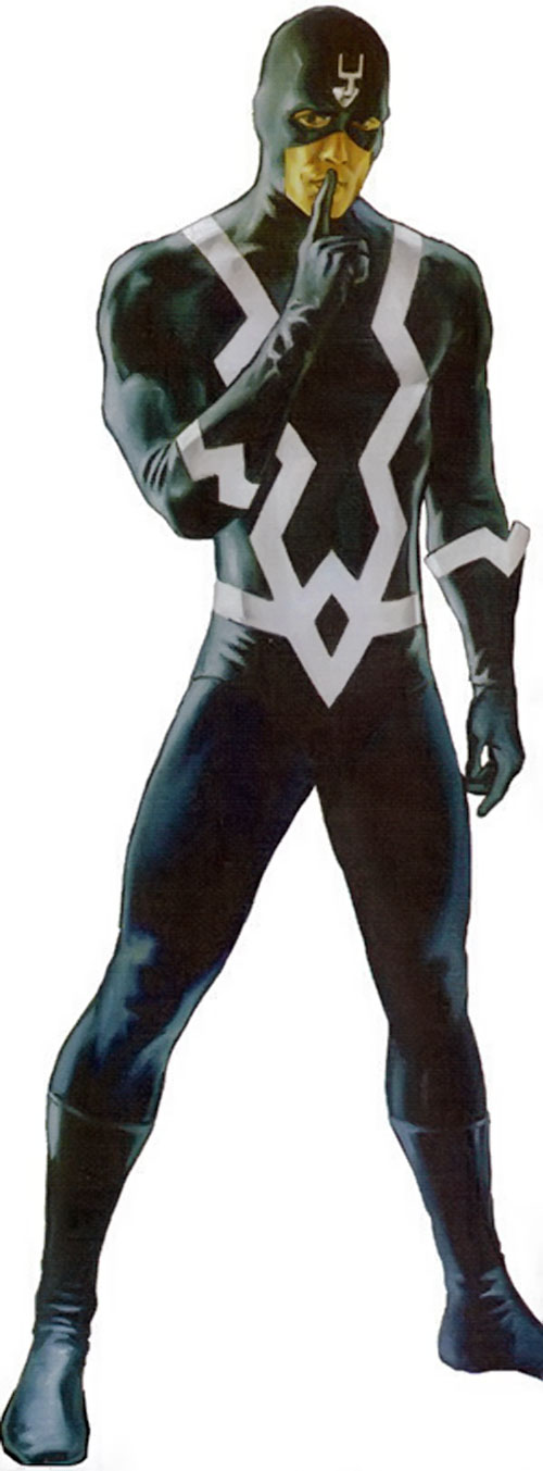 Black Bolt of the Inhumans (Marvel Comics) hushing