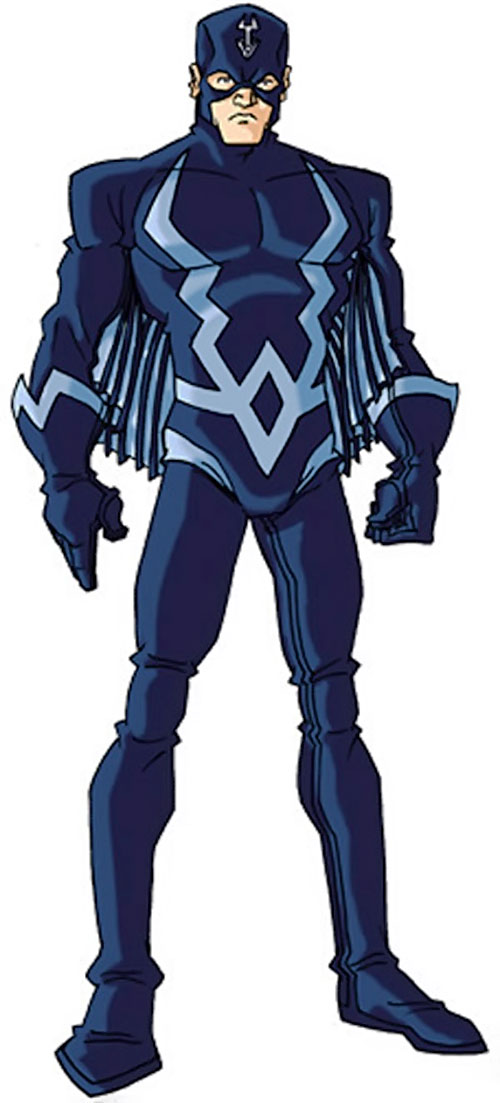 Black Bolt of the Inhumans (Marvel Comics) by RonnieThunderbolts