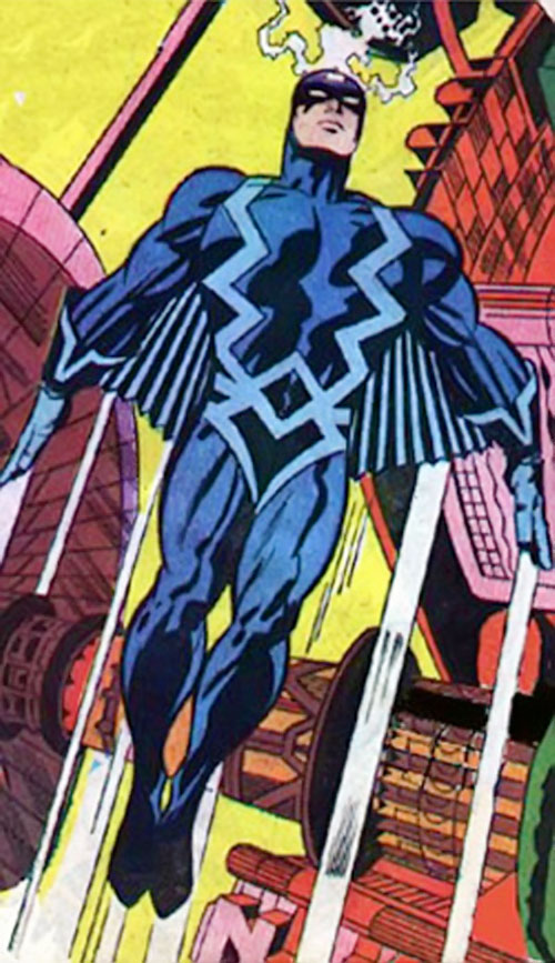 Black Bolt of the Inhumans (Marvel Comics) by Kirby