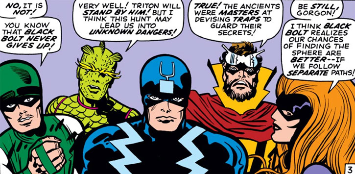 Black Bolt and the Inhuman Royal Family
