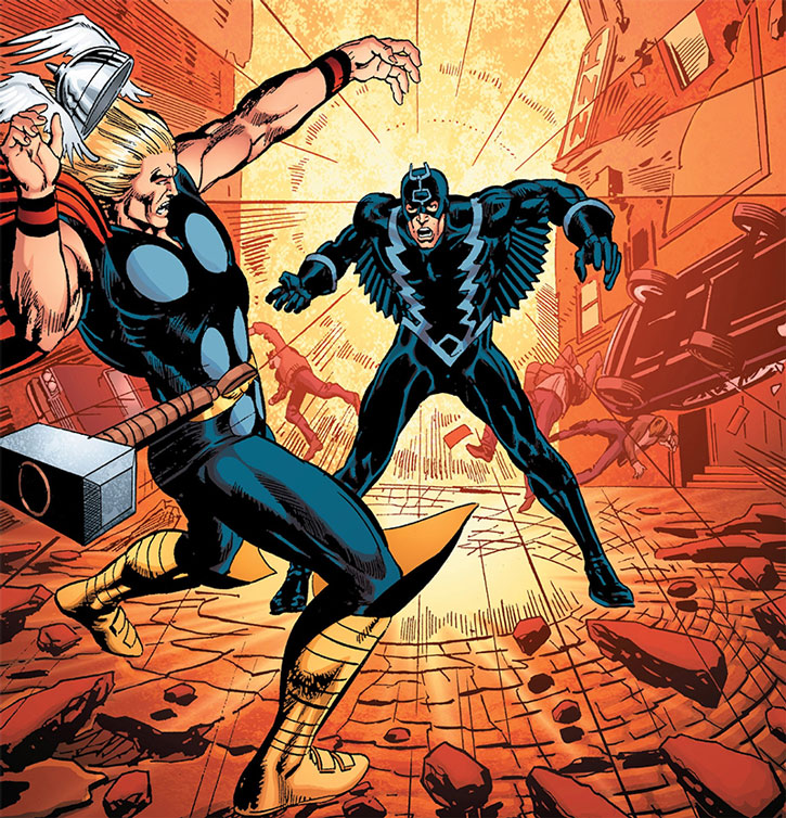Black Bolt vs. Thor