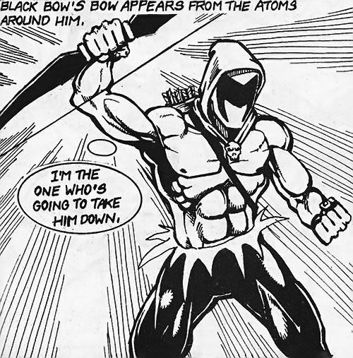 Black Bow (Artline Studio indie comics) summons his weapon