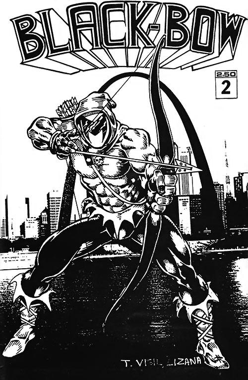 Black Bow (Artline Studio indie comics) splash page