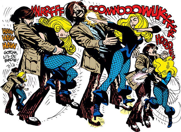 Black Canary (DC Comics) (1970s) Alex Toth martial arts breaks hold