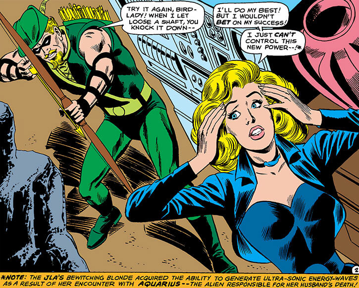 Black Canary (DC Comics) (1970s) and Green Arrow early