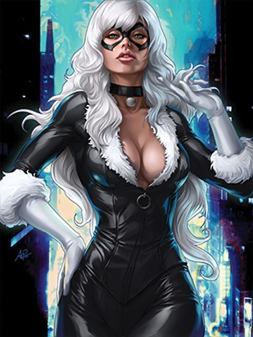 Black Cat (Spider-Man character) (Marvel Comics) by Artgerm
