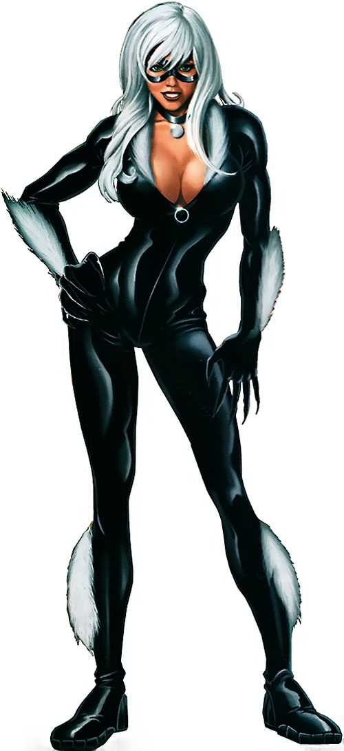 Black Cat (Spider-Man character) (Marvel Comics) modern look