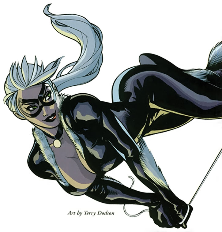 Black Cat (Felicia Hardy) by Terry Dodson