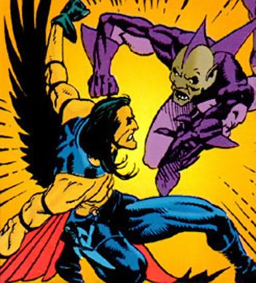 Black Condor (Ryan Kendall) (DC Comics) vs. the Shark