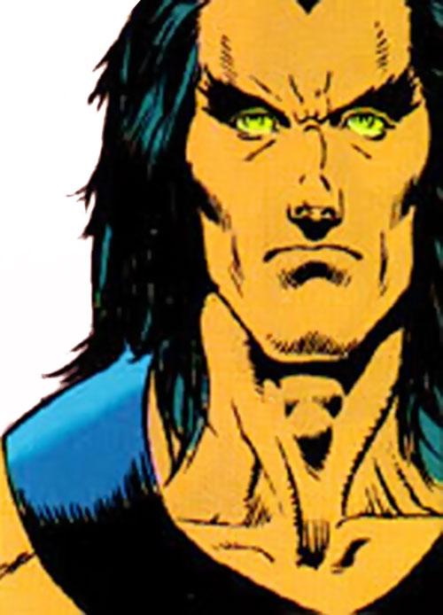 Black Condor (Ryan Kendall) (DC Comics) face closeup