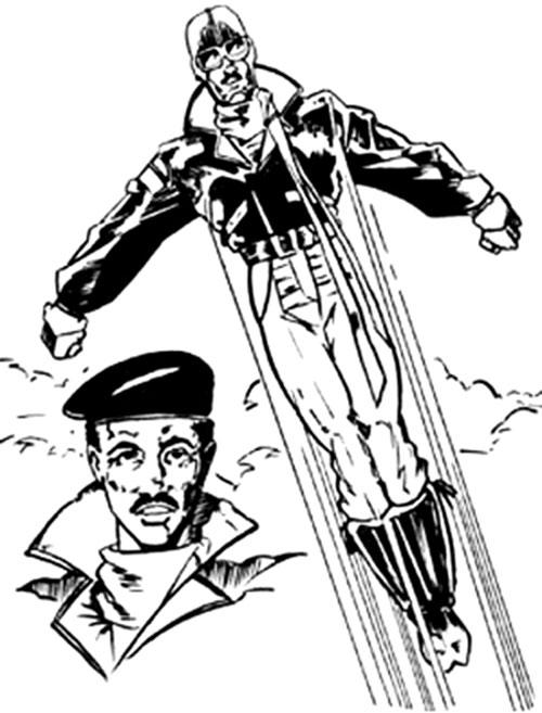 Black Eagle from GURPS Wild Cards