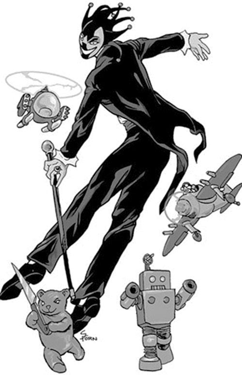 Black Harlequin (Champions RPG)