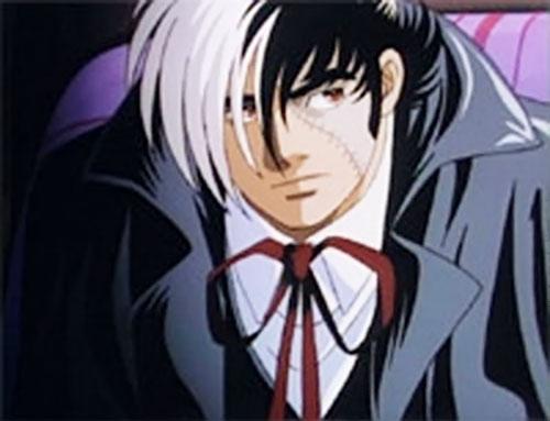 Black Jack (Osuma Tezuka manga) looking pensive