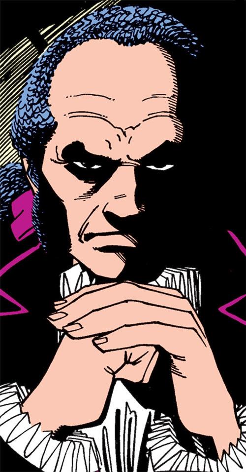 Black King Sebastian Shaw (Marvel Comics) (Hellfire Club) ominous look