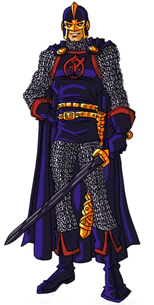 Black Knight of the Avengers (Dane Whitman) (Marvel Comics) by RonnieThunderbolts 2/8