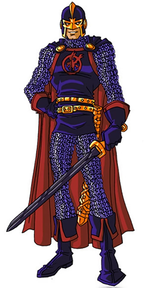 Black Knight of the Avengers (Dane Whitman) (Marvel Comics) by RonnieThunderbolts 4/8