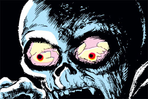Black Knight (Nathan Garrett) as an undead