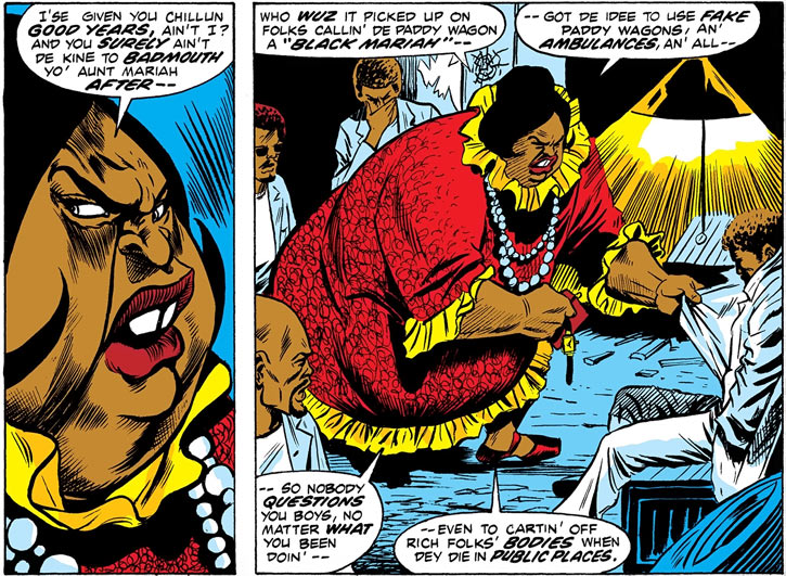 Black Mariah (Marvel Comics) (Luke Cage) and her crew