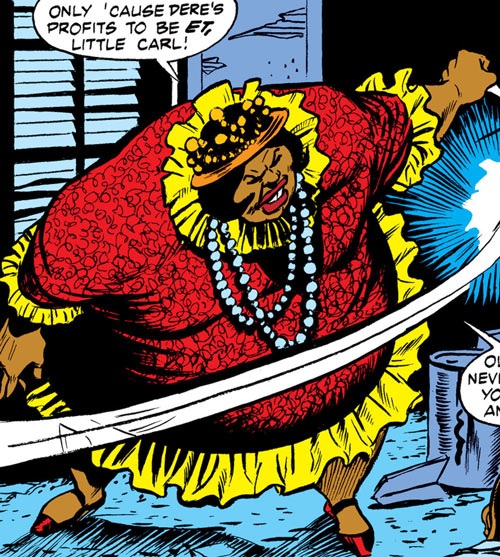 Black Mariah (Luke Cage enemy) (Marvel Comics)