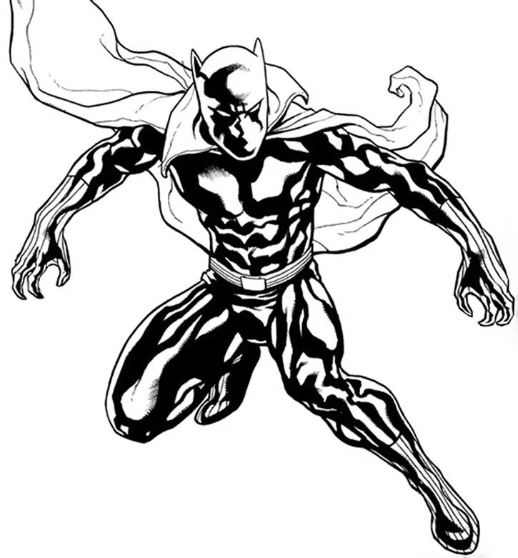 Black Panther TChalla Franck Cho Inked Sketch