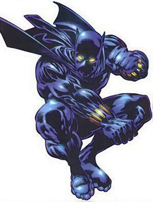 Black Panther (Marvel Comics) with a short code