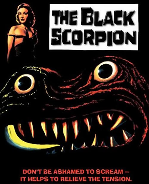 Black Scorpion (1957 monster movie) poster