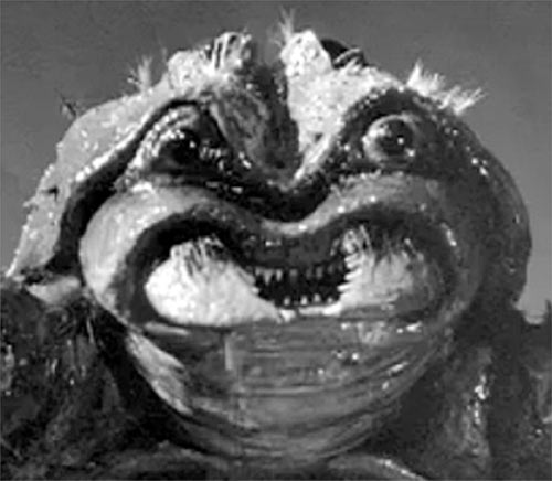 Black Scorpion (1957 monster movie) face