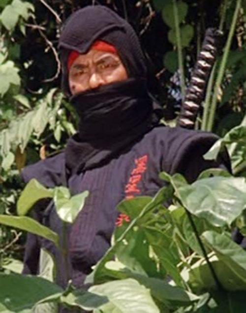 Black Star Ninja (Tadashi Yamashita in American Ninja)