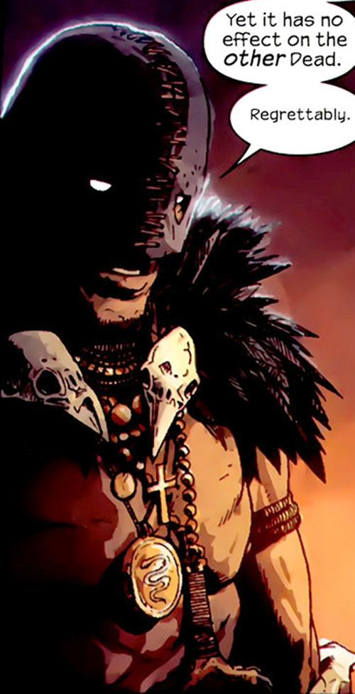 Black Talon (Marvel Comics) with his modern costume