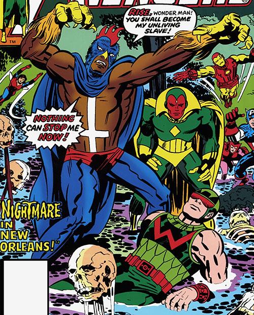 Black Talon (Marvel Comics) vs. the Avengers