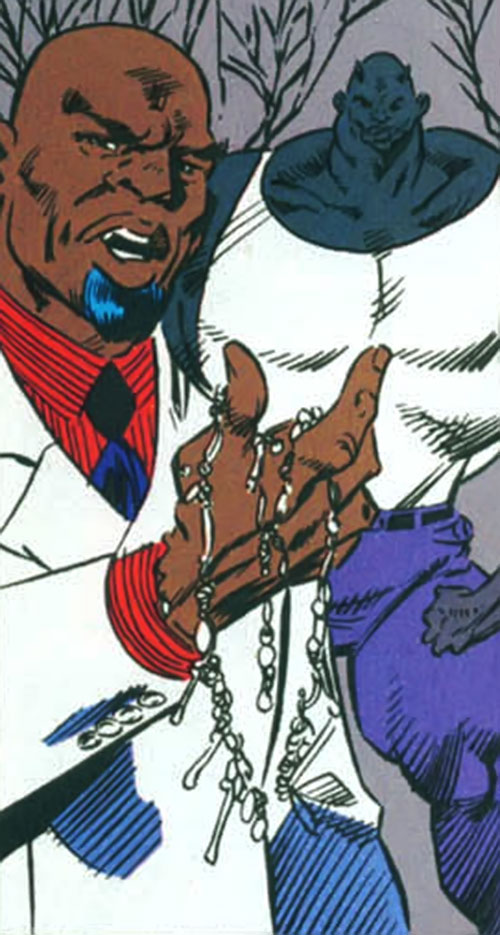 Black Talon (Marvel Comics) in a white suit