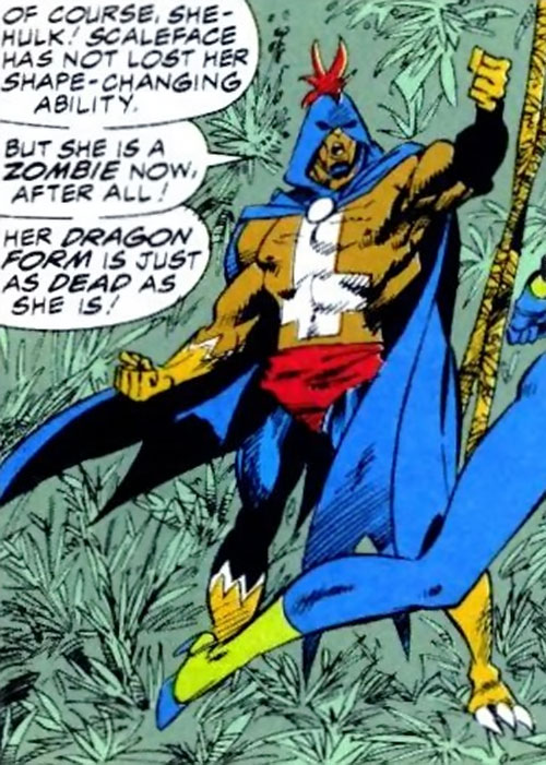 Black Talon (Marvel Comics) in a jungle