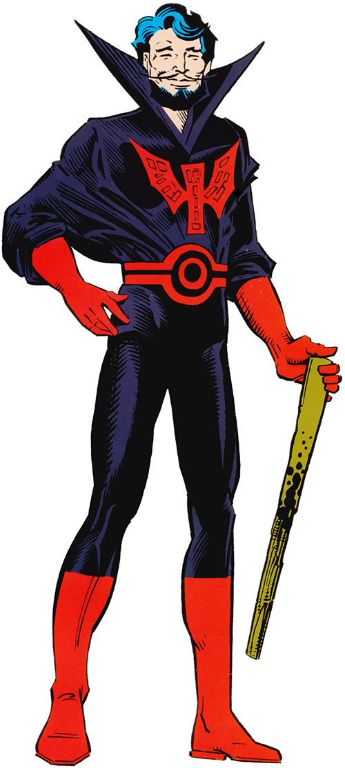 Black Tom Cassidy (X-Men enemy) (Marvel Comics) during the 1980s