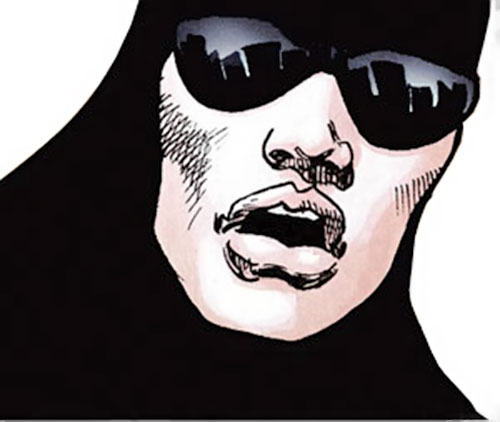 Black Velvet (Astro City comics) face closeup