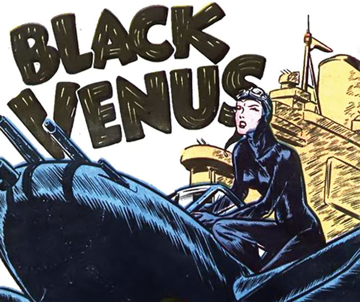 Black Venus (1945 Contact Comics art)