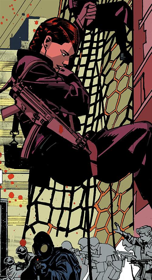 Black Widow Marvel Comics Natalia Romanova 1927 1946