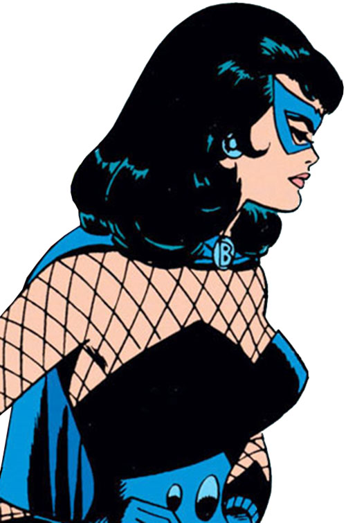 Black Widow (Romanoff) during the 1960s (Marvel Comics) side view