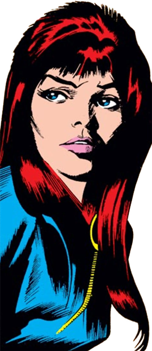 Black Widow (1970s Marvel Comics) by Gene Colan