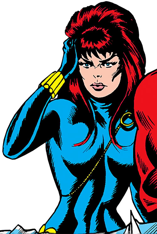 Black Widow (1970s Marvel Comics) dazed