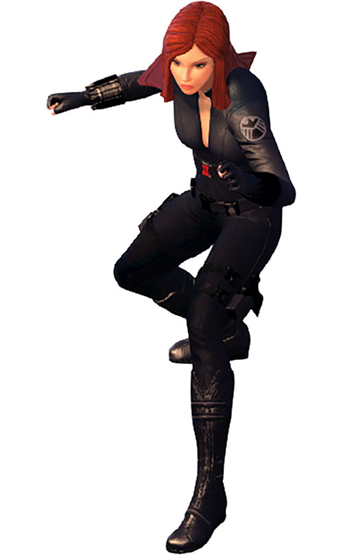 Black Widow (Marvel Heroes video game) ready for action