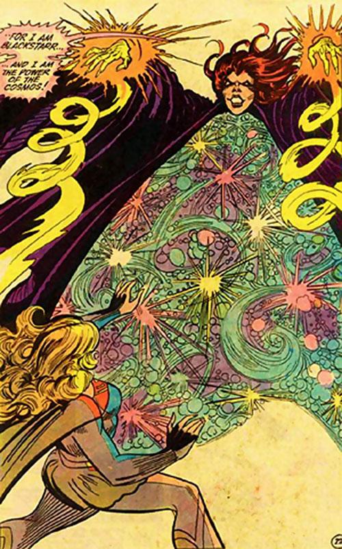 Blackstarr (Supergirl enemy) (DC Comics) vs. Supergirl