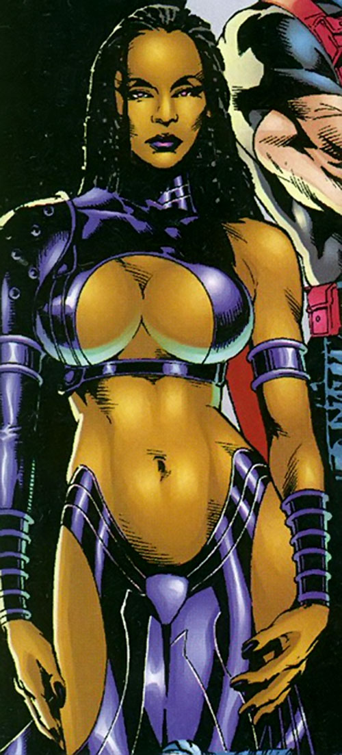 Blackstarr of the Suicide Squad (DC Comics)