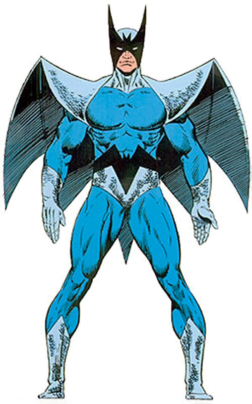 Blackwing (Marvel Comics) (Manfredi) from the Master Edition of the handbook
