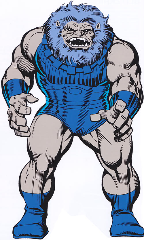 Blastaar (Marvel Comics) from the 1980s handbook